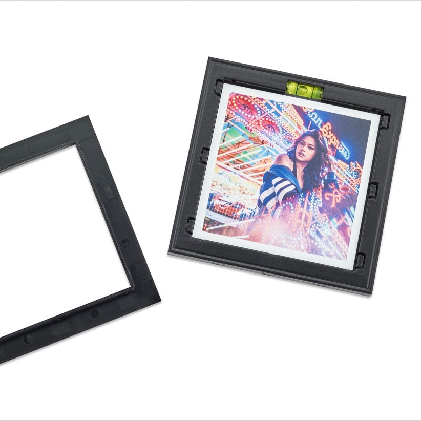 Magnaframe Magnetic Photo Frame for Instagram (4x4) Prints - Black ...