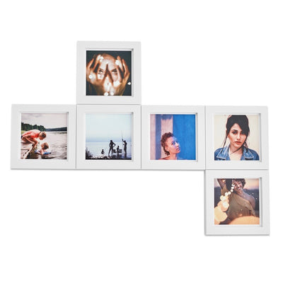 4x4 Classic Square (6-Pack, White)