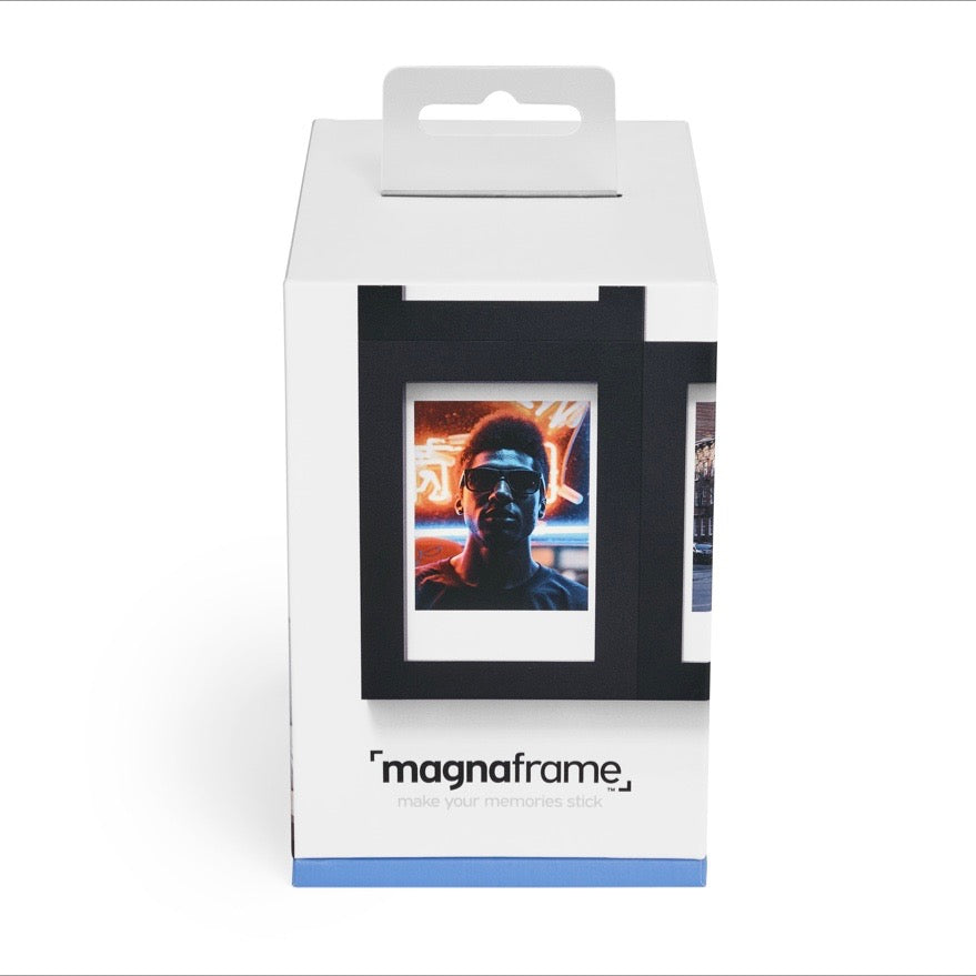 magnaframe - fuji instax mini - 6-pack - black