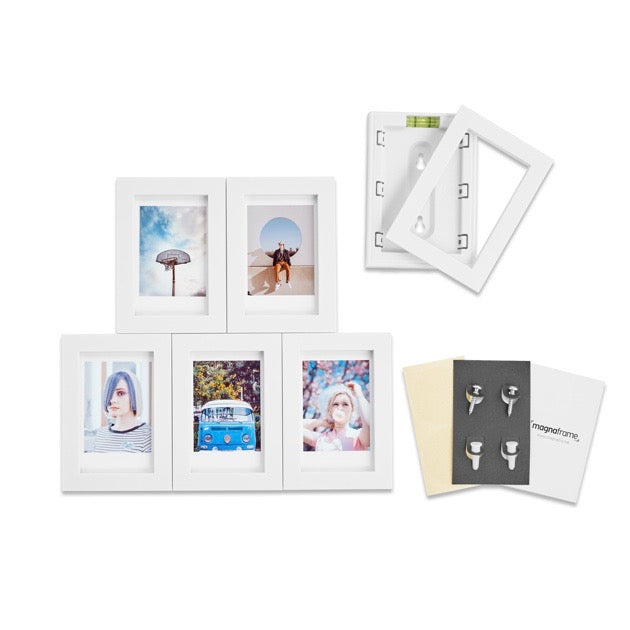 Fuji Instax Mini (6-Pack, White)