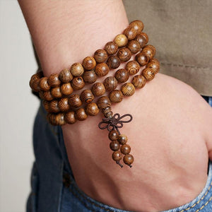 Healing Wenge Wood Mala (50% OFF) + 10% Donation
