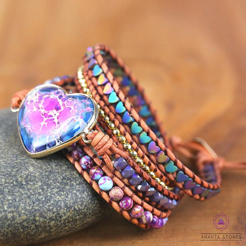 Healing Heart Protection Wrap Bracelet