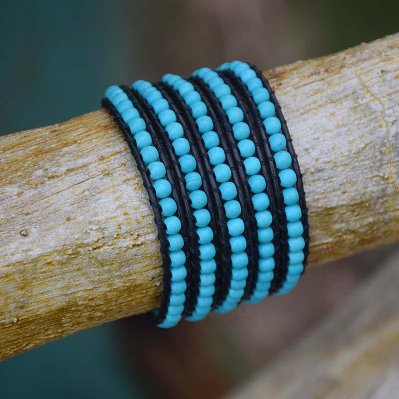 Turquoise Leather Wrap for Protection (Exclusive Edition)