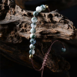 Nature's Gift Healing Beads Bracelet (Smoky Agate) + 10% Donation