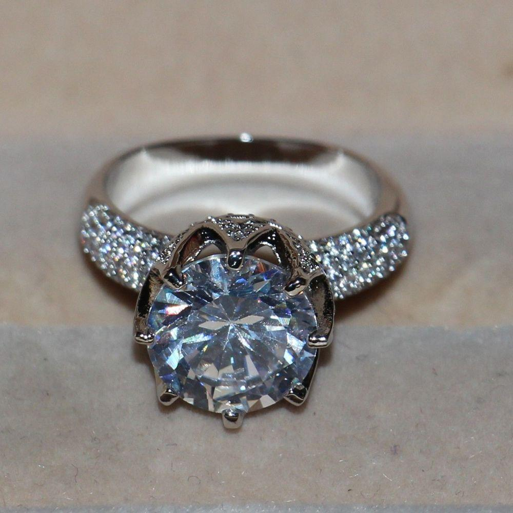 Cubic Zirconia Goddess Ring