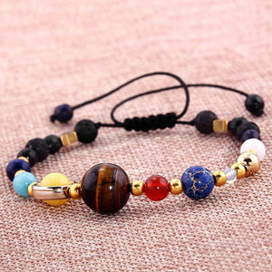 Healing Solar System / Galaxy (Eight Planets)  Bracelet (50% OFF)