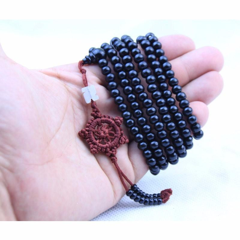 108 Healing Sandalwood Meditation Prayer Mala Bracelet (Limited Offer) + 10% Donation