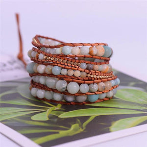 Absolute Amazonite Wrap Bracelet