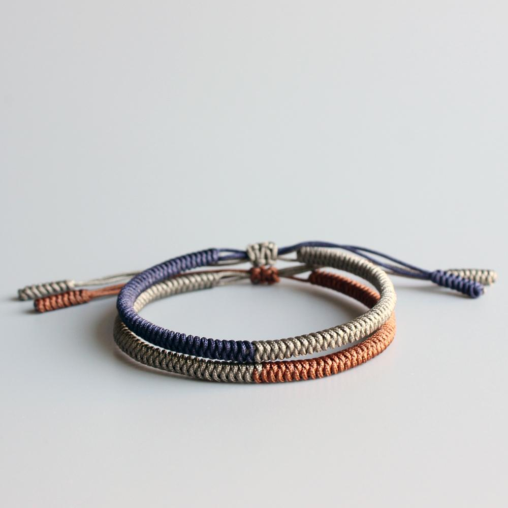 Hand Made Knots Lucky Rope Bracelet (Love) (New) + 10% Donation