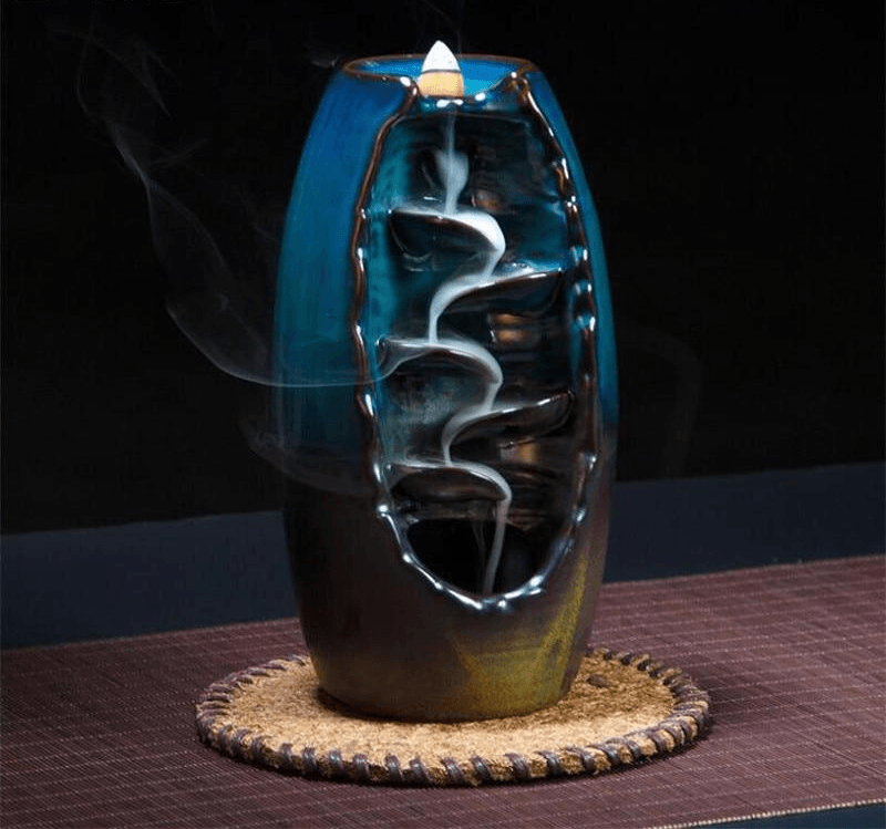 Handcrafted Waterfall Incense Burner