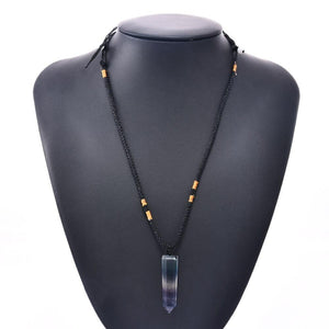 Healing 7 Color Crystal Necklace
