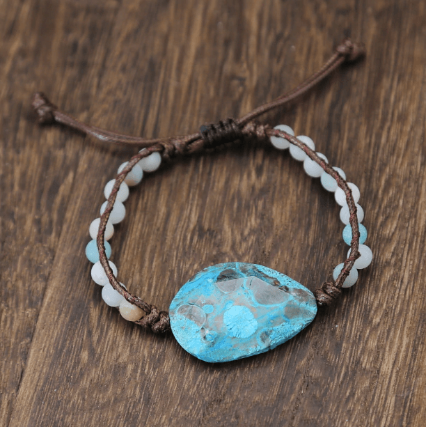 Healing Energy Bracelet  (African Turquoise) Limited Edition