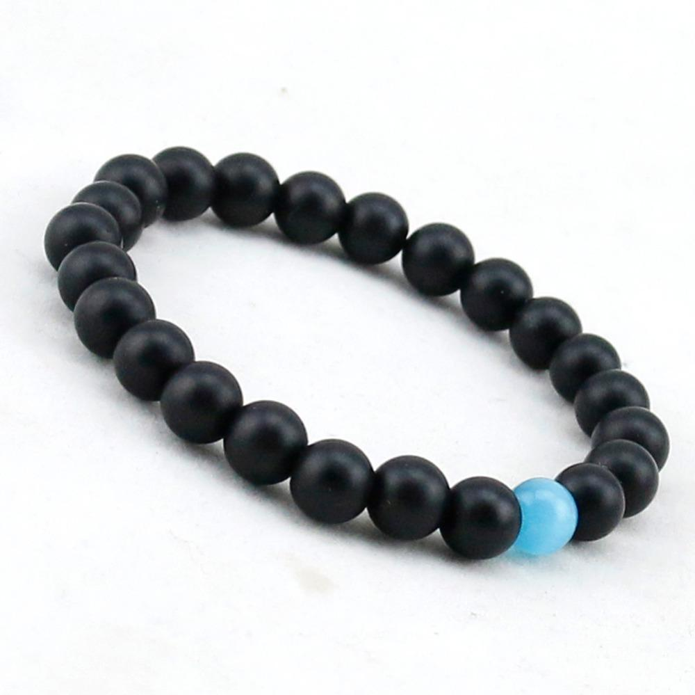 Healing Water Drop Onyx Bracelet For Protection