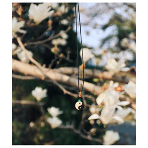 Healing Tibetan Yin-Yang Necklace for Balance - (50% OFF) + 10% Donation