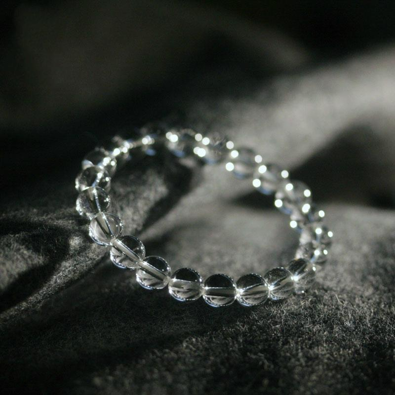 Healing Quartz Bracelet (Natural Rock) +10 % Donation