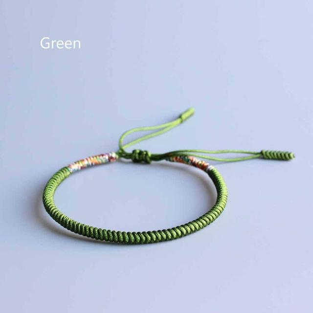 Hand Made Knots Lucky Rope Bracelet - (Acceptance) (New) + 10% Donation
