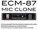 ECM-87 Mic Clone Software License