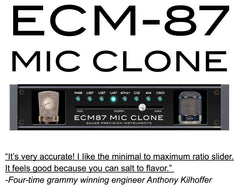 ECM87 Mic Clone Plug-In Software 7-Day Trial