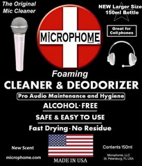 Microphome - Professional Mic Cleaning Foam