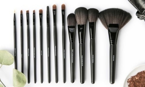 12 Piece - All Dolled Up Professional Set Black