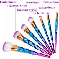 12 Piece Unicorn Make Brush Tool Kit