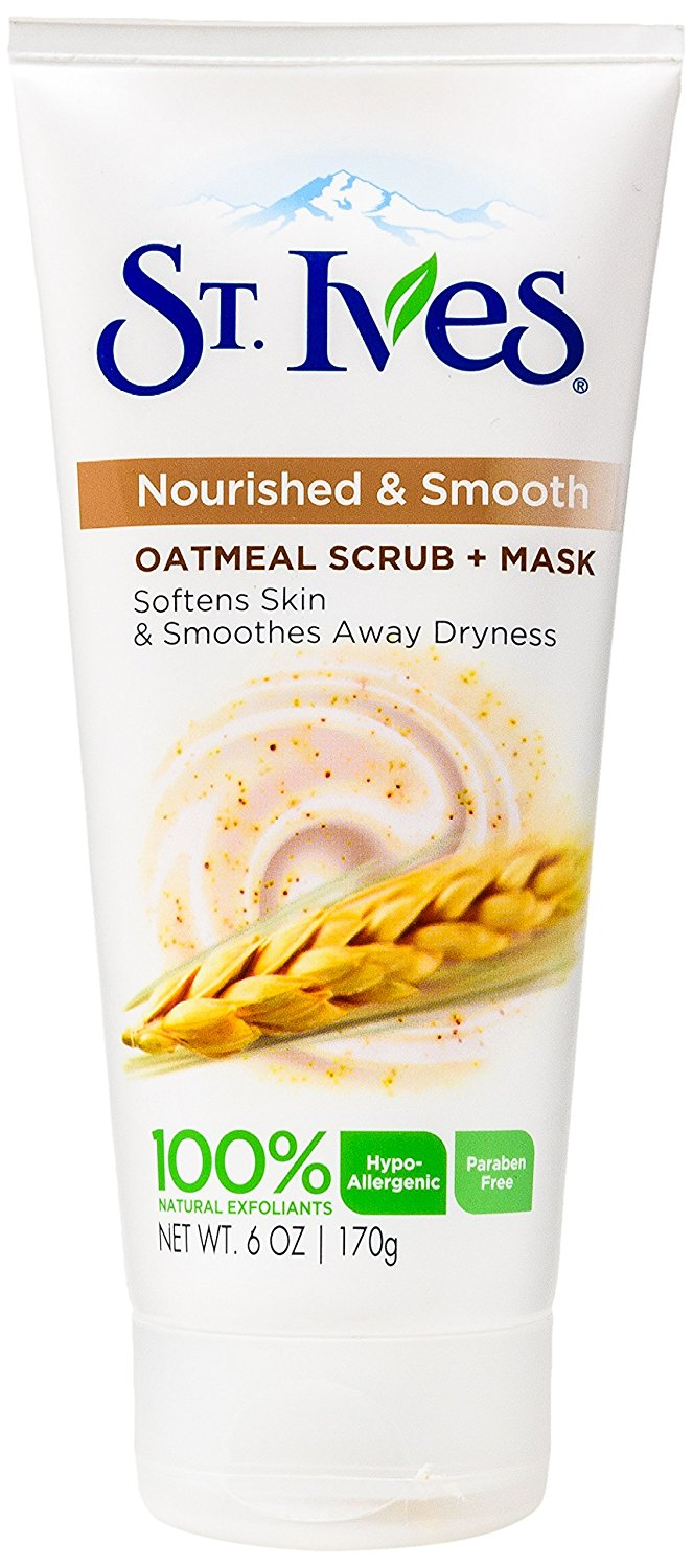 Nourished & Smooth Face Scrub and Mask, Oatmeal