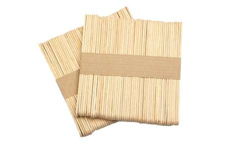 50 Painless Wax Wood Spatula
