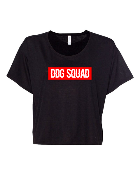DDG Squad Black Crop Top