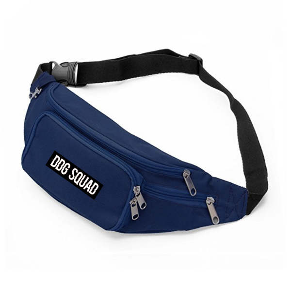 DDG Squad NavyBlue Fanny Pack