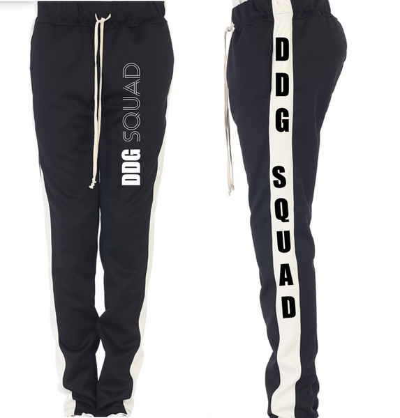 DDG Squad Black and White Joggers