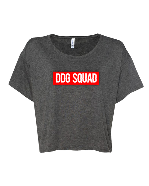 DDG Squad Gray Crop Top