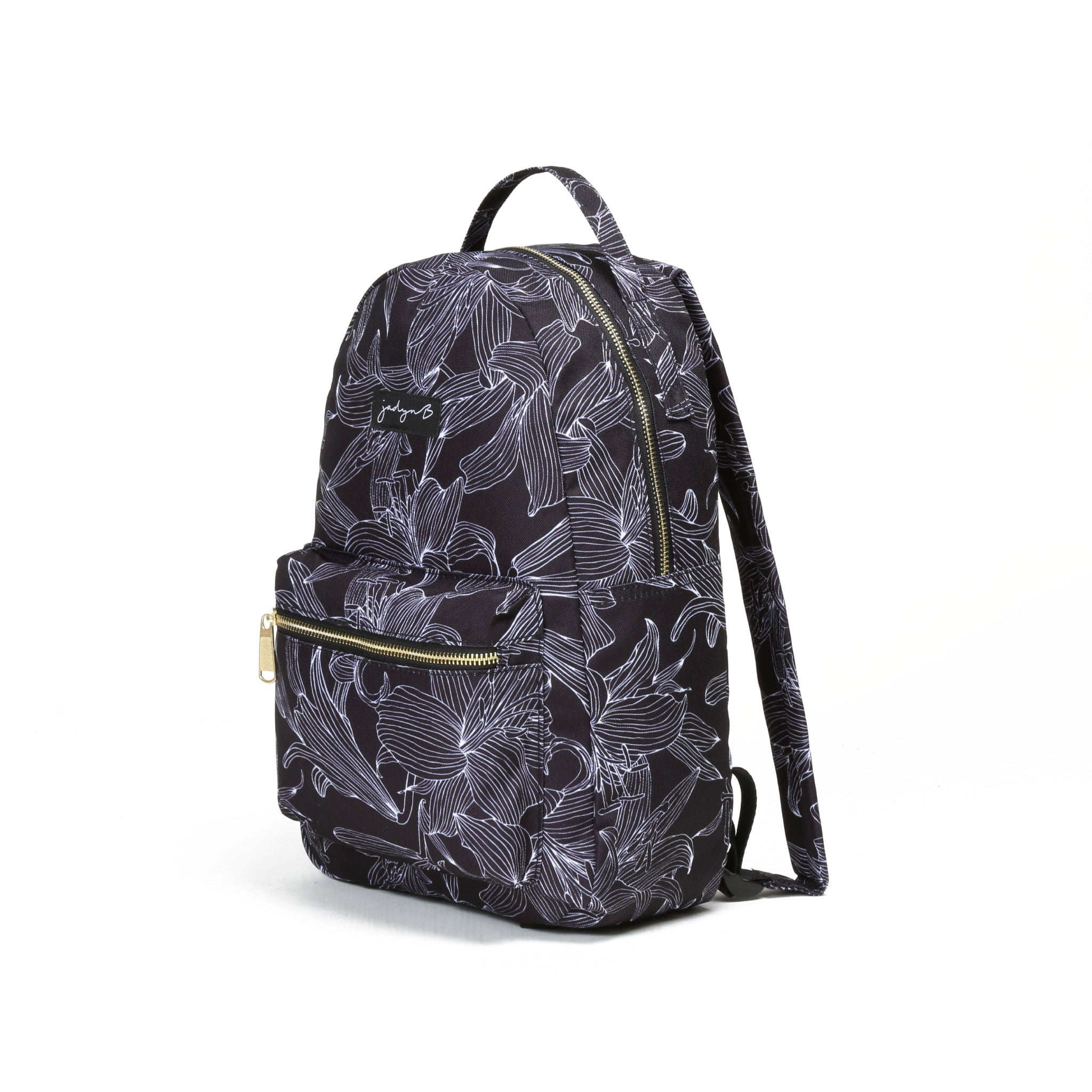 Vera Small Backpack - Black Floral