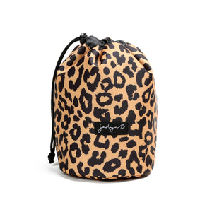 Cosmetic Cinch Bag - Leopard