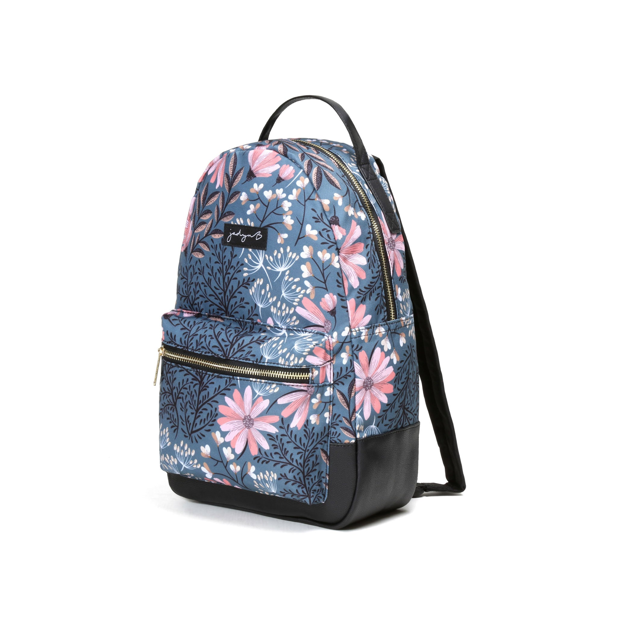 Vera Small Backpack - Navy Floral