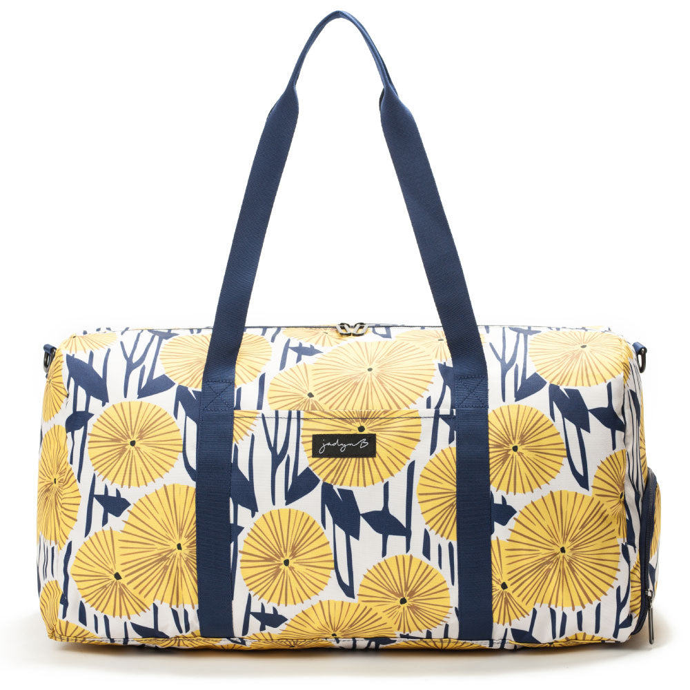 Weekender Duffel Bag - Yellow Flowers