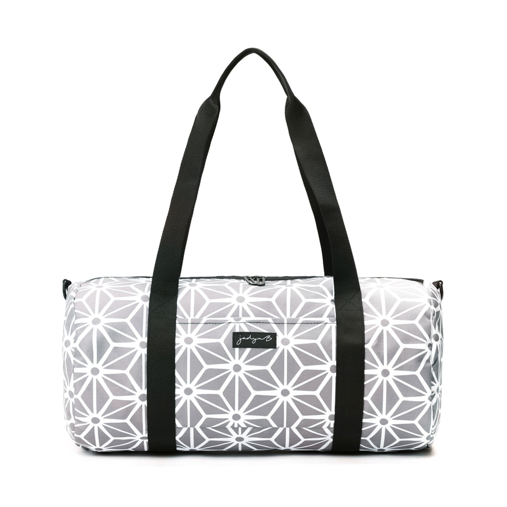 Barrel Duffle - Geometric Gray
