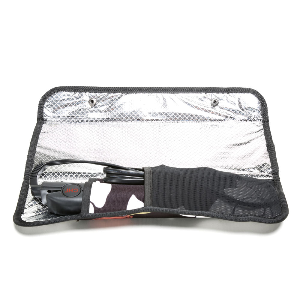 Hair Iron Case - Magnolia Black