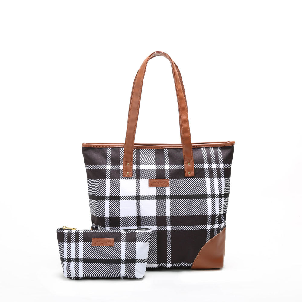 Liliana Tote - Plaid