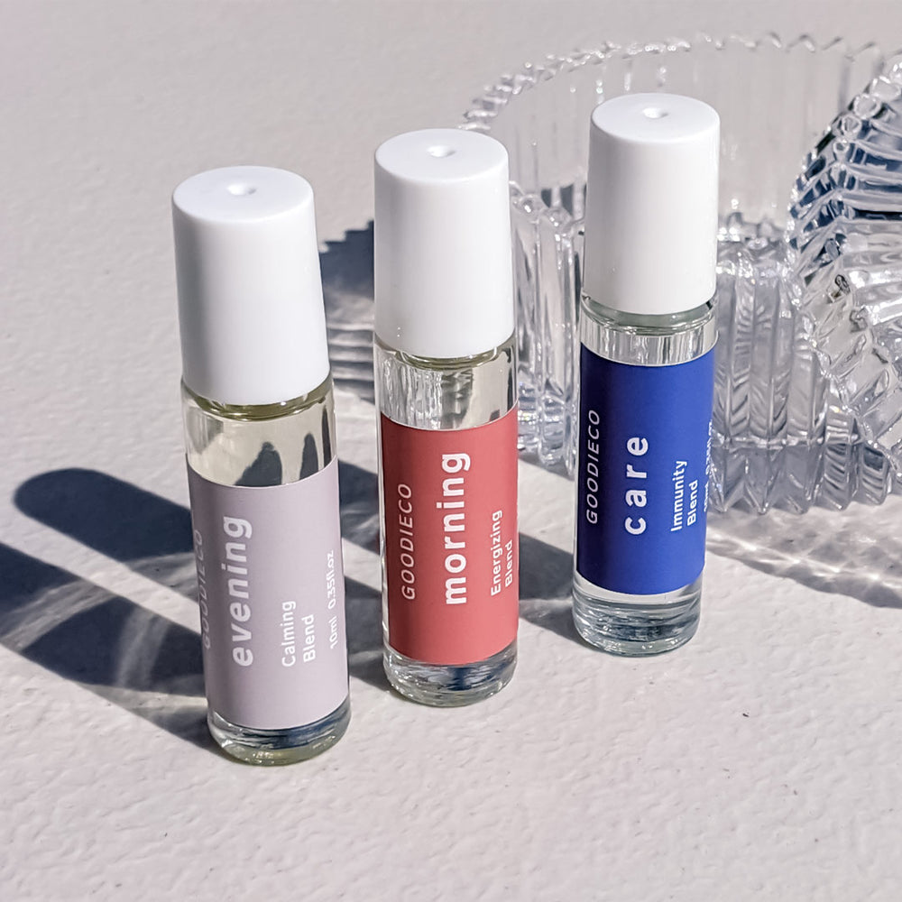 GoodieCare Wellness Blends | Aromatherapy Trio