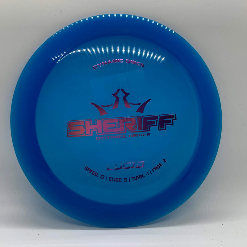 Sheriff - Dynamic Discs,Dynamic Discs, - Fly Guy Disc Golf