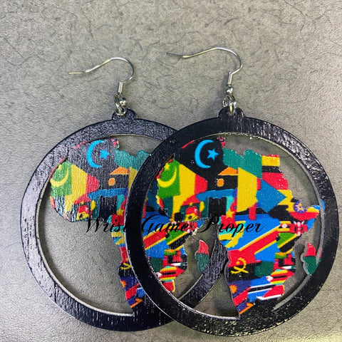 Africa in Color Earrings