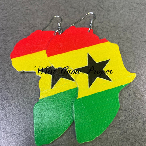 Oh African Earrings_Ghana