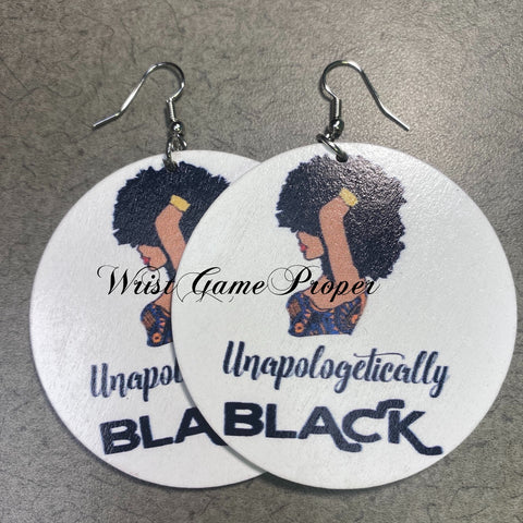 Unapologetically Black Earrings