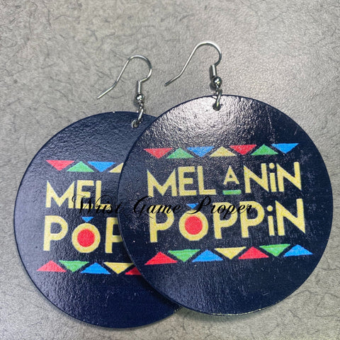 Melanin Poppin Earrings