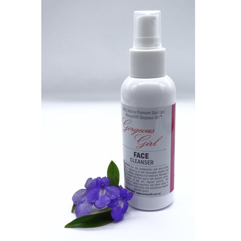 Face cleanser for oily, combination and acne prone skin