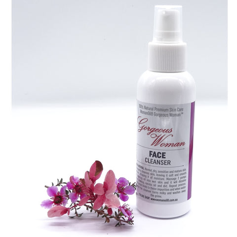 Gorgeous Woman Face Cleanser
