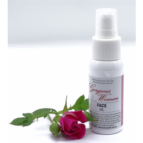 Gorgeous Woman Face Oil