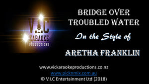 Aretha Franklin - Bridge over Troubled Water - Karaoke Bars & Productions Auckland
