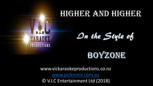 Boyzone - Higher and Higher - Karaoke Bars & Productions Auckland