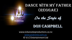 Don Campbell - Dance with my Father (Reggae) - Karaoke Bars & Productions Auckland